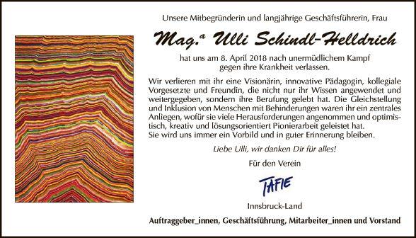 Mag.a Ulli Schindl-Helldrich