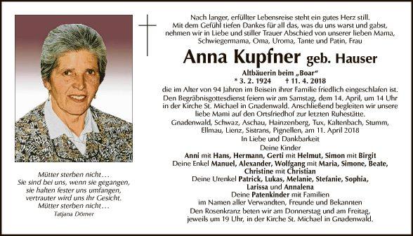 Anna Kupfner
