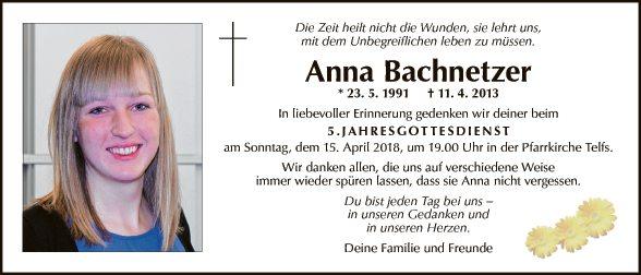 Anna Bachnetzer