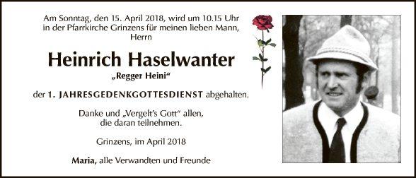 Heinrich Haselwanter