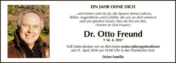 Dr. Otto Freund