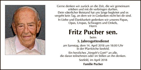 Fritz Pucher sen.