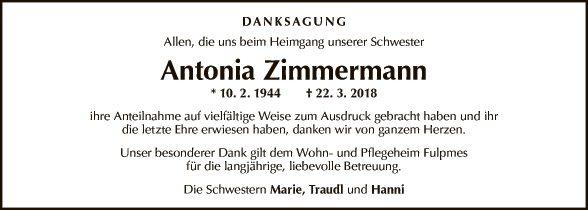 Antonia Zimmermann