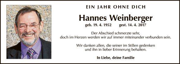 Hannes Weinberger