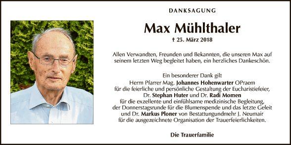 Max Mühlthaler