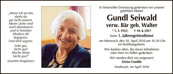 Gundl Seiwald