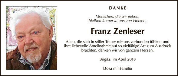 Franz Zenleser