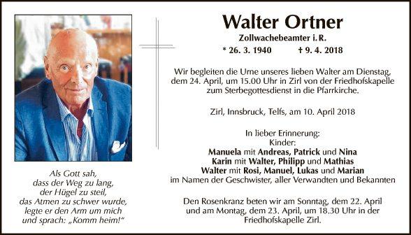 Walter Ortner