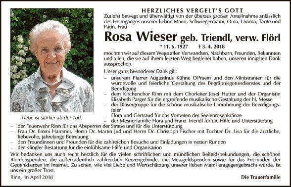 Rosa Wieser
