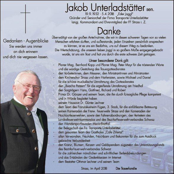 Jakob Unterladstätter