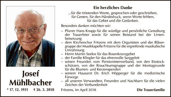 Josef Mühlbacher