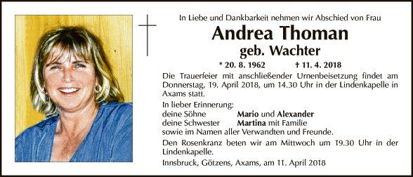 Andrea Thoman