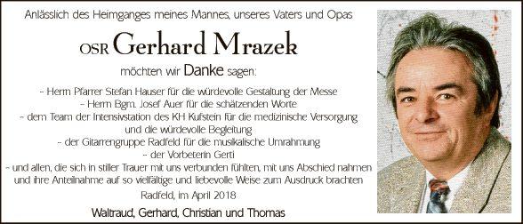 Gerhard Mrazek