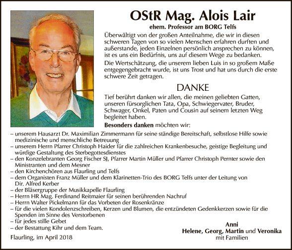 OStR Mag. Alois Lair