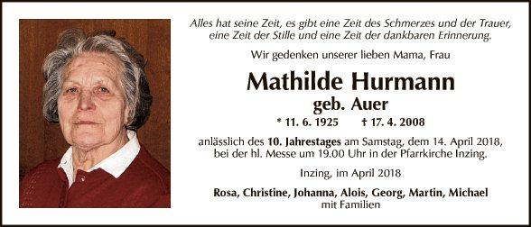 Mathilde Hurmann
