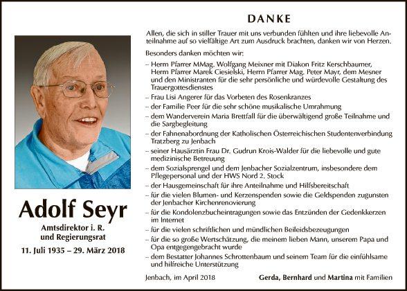 Adolf Seyr