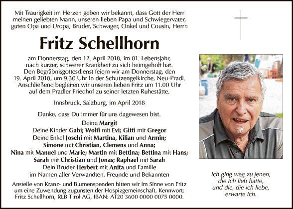 Fritz Schellhorn
