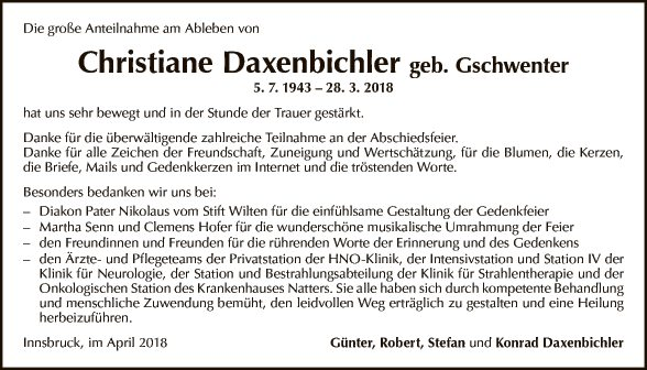 Daxenbichler