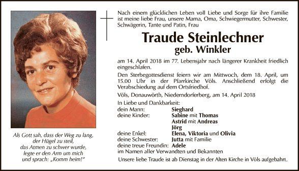 Traude Steinlechner