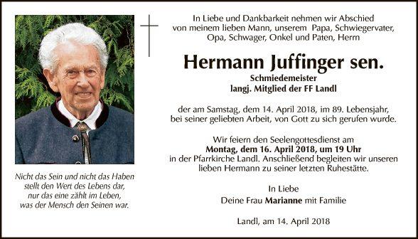 Hermann Juffinger sen.