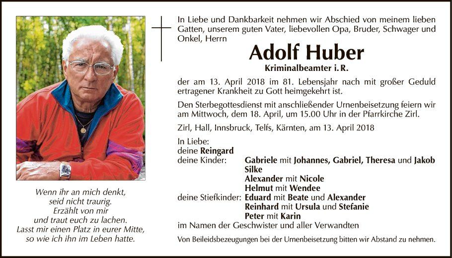Adolf Huber