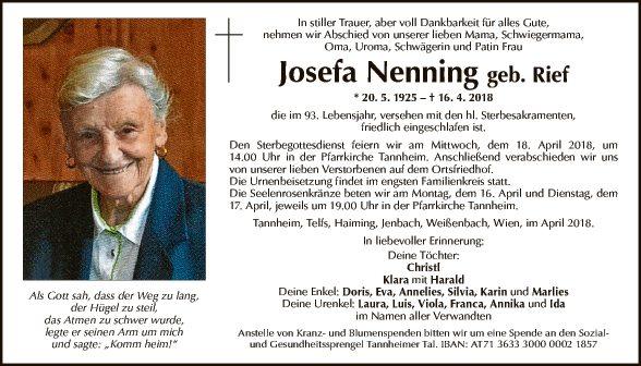 Josefa Nenning