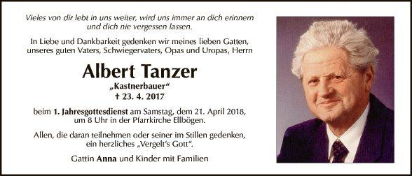 Albert Tanzer