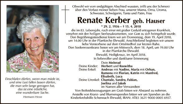 Renate Kerber