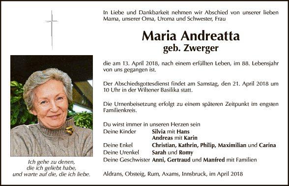 Maria Andreatta