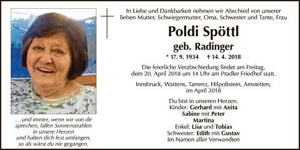 Leopoldine Spöttl
