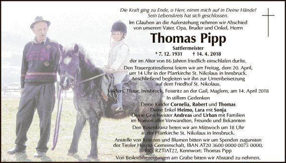Thomas Pipp