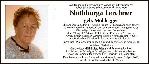 Nothburga Lerchner