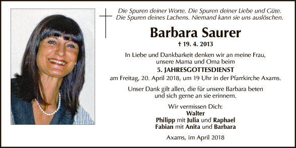 Barbara Saurer