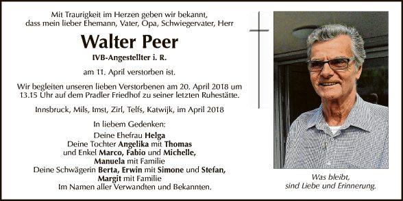Walter Peer