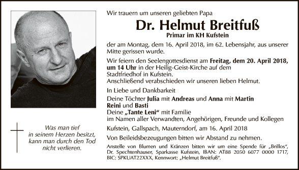 Dr. Helmut Breitfuß