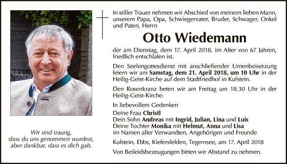 Otto Wiedemann