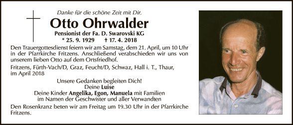 Otto Ohrwalder
