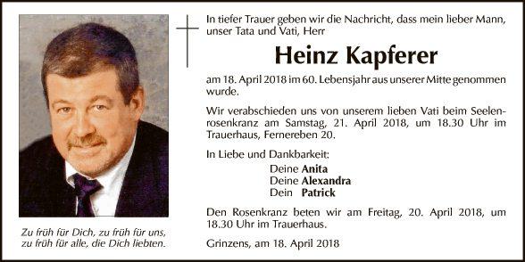 Heinz Kapferer