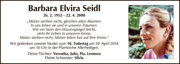 Barbara Elvira Seidl