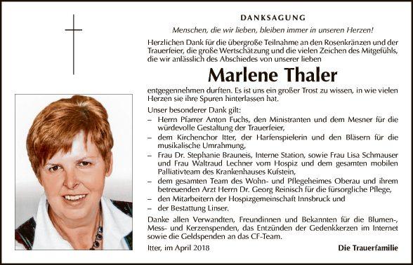 Marlene Thaler