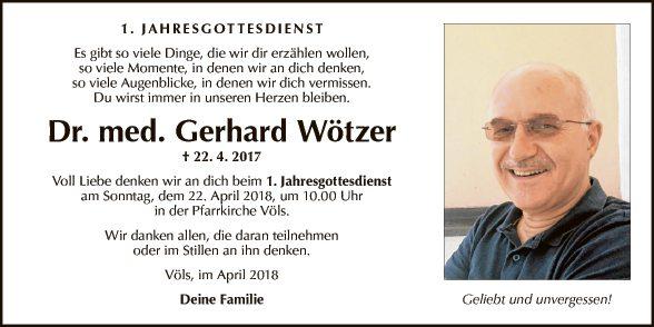 Gerhard Wötzer