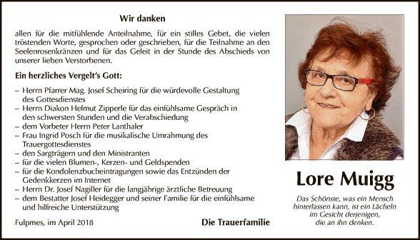 Lore Muigg