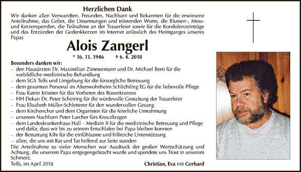 Alois Zangerl