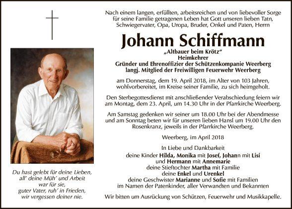 Johann Schiffmann