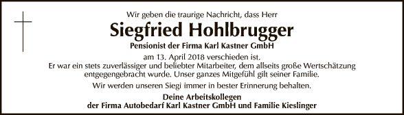 Siegried Hohlbrugger