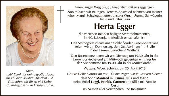 Herta Egger