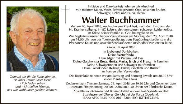 Walter Buchhammer