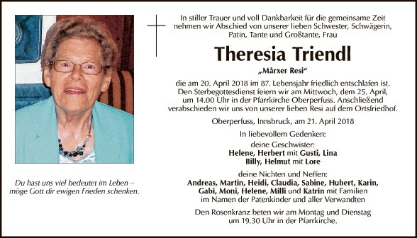 Theresia Triendl