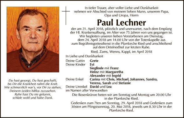 Paul Lechner