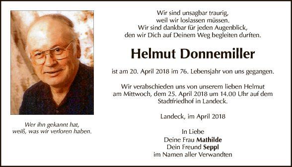 Helmut Donnemiller